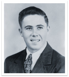 Corwin Robison as a young man