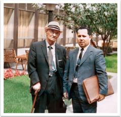 Demetrius Papageorge und Corwin Robison