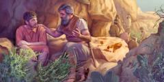 Jonatan taler med David