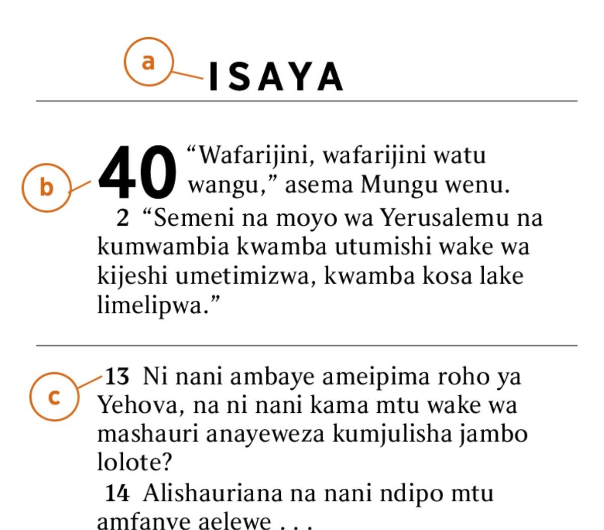 Sura Na Mistari Ni Nani Aliiweka Katika Biblia