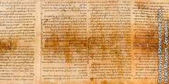A portion of the book of Isaiah from the Dead Sea Scrolls