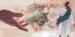 Исус се одупире сатанским искушењима