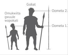 Eyelekanitho lyomulefule Goliat nomukwiita gwuule wopokati