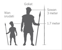 Goliat na sei wan tra srudati