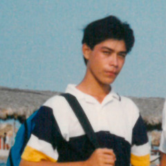 Адриан де ла Фуэнте в молодости