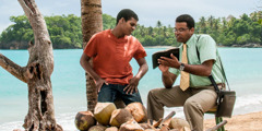 A special pioneer in the Dominican Republic uses the Bible to share the good news with a man