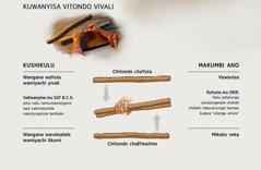 Vitondo vivali vaviwanyishile hamwe—kushikulu namakumbi ano