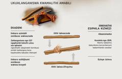 Amalithi amabili aphenduka ilithi elilodwa kokubili eenkhathini zakade nezanamhlanjesi