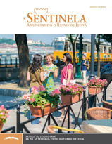 ASentinela — Edição de Estudo, agosto de 2016