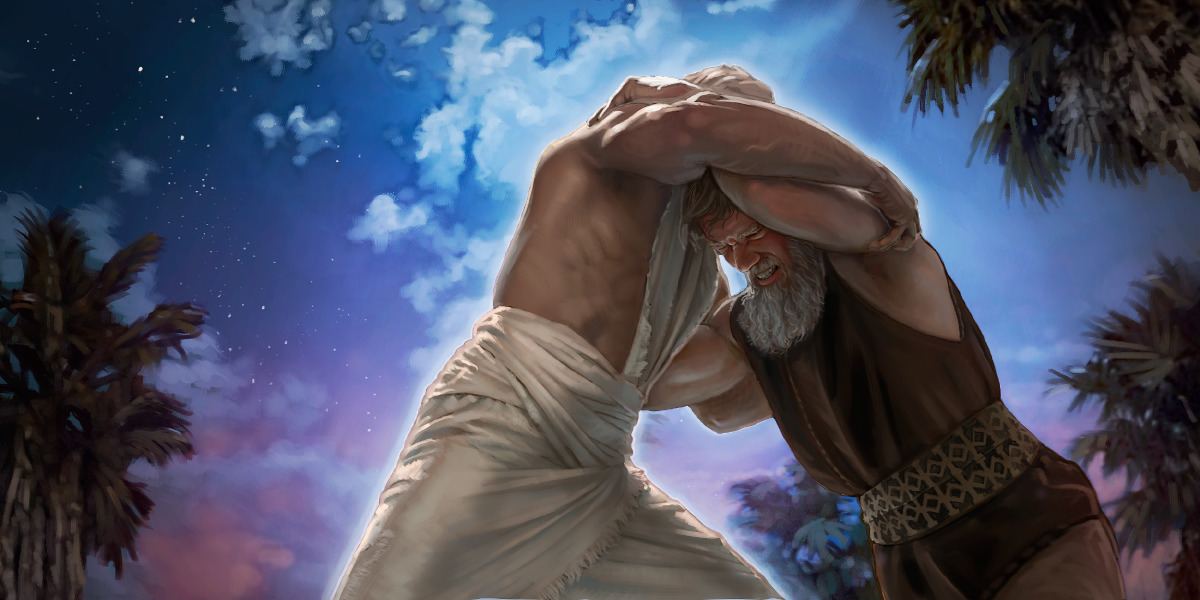 The Magnificent Defeat – Sermon on Genesis 32.22-31 ... |Jacob Wrestles With God Meaning