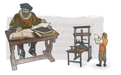A Bible translator and an early printing press