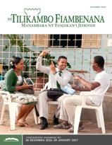 Ny Tilikambo Fiambenana Gazety Fianarana, Novambra 2016