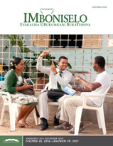 IMboniselo Yohlelo Lokufundisa, Novemba 2016