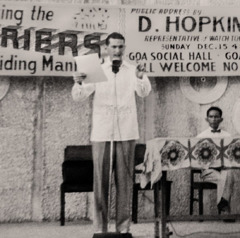 Denton Hopkinson delivers a public lecture