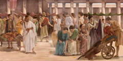 The apostle Paul preaches in Rome