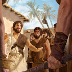 Enoch preach long pipol wea no worshipim God