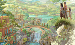 אנשים בגן עדן