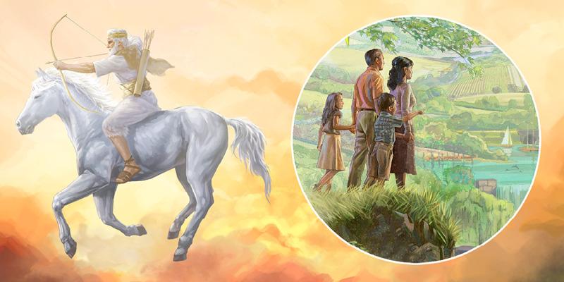 A vitória de Jesus no cavalo branco traz o Paraíso