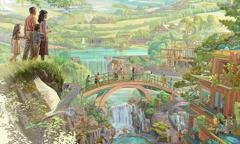 Ljudi uživaju u raju na Zemlji