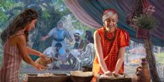 O loo faaalia e Sara le agaga talimālō