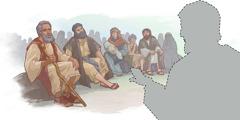 צללית של ישוע