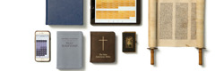 Various written, printed, and electronic Bibles
