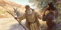 The prophet from Judah is deceived by an old man