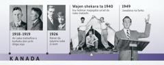 Mahaifin Douglas Guest a shekara ta 1918 zuwa 1919 da kuma iyayensa a shekara ta 1926; Douglas Guest yana hidimar majagaba kuma ya yi jawabinsa na farko