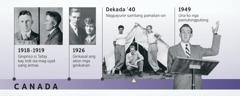 Ang amay ni Douglas Guest sang 1918-1919 kag ang iya mga ginikanan sang 1926; sang nagpayunir si Douglas Guest kag ang una niya nga pamulongpulong