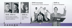 Дуглас Гесттин атасы (1918—1919-жылдар); ата-энеси (1926-жыл); Дуглас Гесттин пионер болуп кызмат кылышы жана биринчи баяндамасы