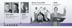 Papa bilong Douglas Guest long 1918-1919 na papamama bilong em long 1926; Douglas Guest i mekim wok painia na em i mekim fes pablik tok