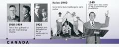 Tatago Douglas Guest ka 1918-1919 le batswadi ba gagwe ka 1926; Ge Douglas Guest a be a bula madibogo e bile a nea polelo ya gagwe ya mathomo ya phatlalatša