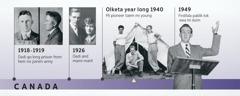 Dadi bilong Douglas Guest long 1918-1919 and long 1926 dadi and mami, Douglas Guest kamap pioneer and first pablik tok