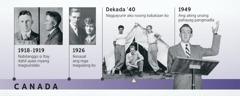 Tatay ni Douglas Guest noong 1918-1919 at mga magulang niya noong 1926; nagpayunir si Douglas Guest at binigkas ang kaniyang unang pahayag pangmadla