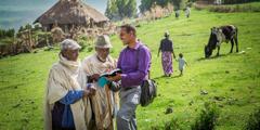 Эфиопире арҫын тӑван ялта икӗ ҫынна ырӑ хыпар пӗлтерет