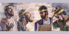 יאשיהו, חזקיהו, יהושפט ואסא