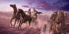 Jehosjafat kjemper sammen med kong Akab mot syrerne