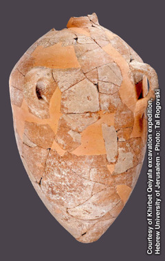 A 3,000-year-old ceramic jar