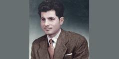 Dimitrios Psarras în tinerețe