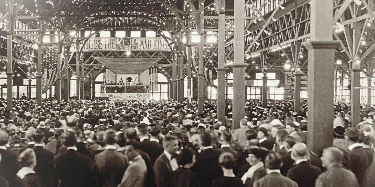 Конгресс в Сидар-Пойнте (штат Огайо). 1922год