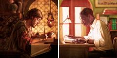 Biblijski pisec v starodavnem času in bralec Biblije v sodobnem času