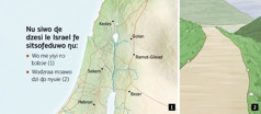 Anyigbatata si dzi Israel ƒe sitsoƒedu adeawo dze le kpakple mɔ aɖe si dzi wodzra ɖo nyuie