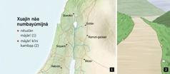 Mbá mapa náa nasngájma mbá majun xuajen náa nimbayúmíjná xa̱bu̱ Israel ga̱jma̱a̱ mbá kamba̱a̱ máján'