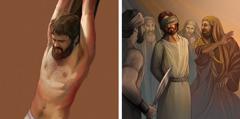 القادة اليهود يرفضون يسوع؛ يسوع يموت على خشبة الآلام