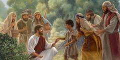 Jezu gbɔ azɔn nú nyaví ɖé, bɔ mɛjitɔ́ tɔn lɛ kpo nùkpɔntɔ́ lɛ kpo ɖò awǎjijɛ mɛ