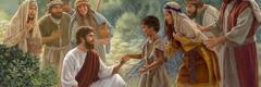 Jesús kipajtia se konetl niman itajuan niman ichanejkauan melak yolpakij
