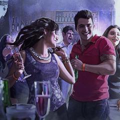 شباب في حفلة صاخبة