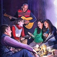 اخوة يغنون معا