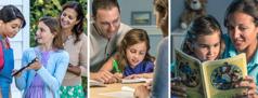 ככל שהילדה גדלה הוריה מקריאים לה, מלמדים אותה ולוקחים אותה לשירות השדה