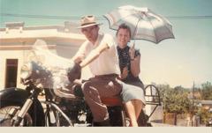 Walter un Erika Nöhrer Bright en Asunción, Paraguay